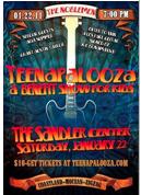 TEENAPALOOZA featuring 5 local teen bands at the SANDLER CENTER