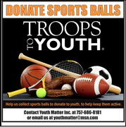 DONATE SPORTS BALLS TO YOUTH TO HELP KEEP THEM ACTIVE