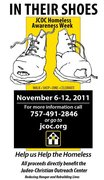 IN THEIR SHOES: JCOC Homeless Awareness Week