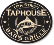 """11th St. Taphouse"" Tide Burger ($5.99) & Pint (50% off Micro Beers) Night with Joe Heilman from 7 to 10!"