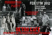 Prohibition Party at Retro Cafe