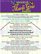 Mexican Mardi Gras Party at Guadalajara - American Cancer Society Benefit in honor of Warren Seaburg