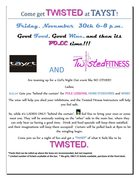 POLE LESSONS, HORS D'OEUVRES AND WINE AT TAYST