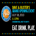 **SOLD OUT** Dave & Buster's Grand Opening Charity Event!
