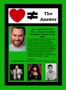 """Brendan Kennedy's Headlines Comedy at the Cafe-""""Love Is Not The Answer"""""""
