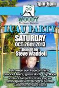 LUAU PARTY AND FUNDRAISER AT WOODY MCGEES