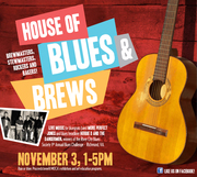 MENTION VBNIGHTLIFE AT THE DOOR AND GET $5 OFF ADMISSION TODAY AT THE HOUSE OF BLUES AND BREWS AT MOCA - Live Music and Fabulous Food