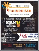 United Hope Typhoon Relief Fundraiser at Jewish Mother!