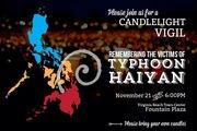 Candlelight Vigil for Typhoon Haiyan Victims + Fundraiser at California Pizza Kitchen
