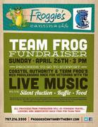 FUNDRAISER WITH LIVE MUSIC AT FROGGIES