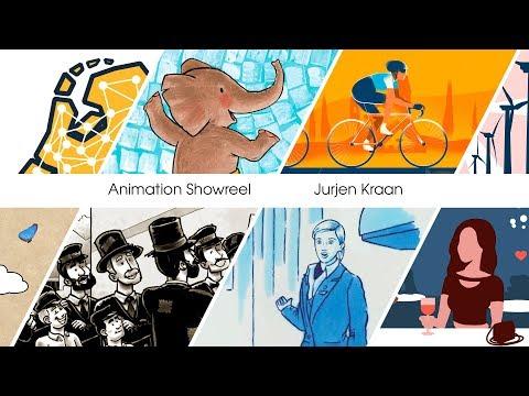 Animator Nederland |  Showreel Jurjen Kraan