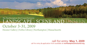 Landscape:Scene and Unseen CALL FOR ENTRY