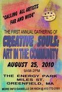 creative souls; art in the community