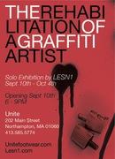 "LESN1 – ""The Rehabilitation of a Graffiti Artist"""