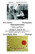 R. A. Cantius & Anna Bayles Arthur at the Hooker Dunham Gallery
