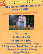 JB'S 3rd Annual YART (Yard plus Art)