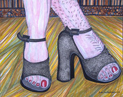 'SUPER-MOM UNVEILED'' a group exhibition of four women/mother artists.