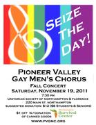 Pioneer Valley Gay Men's Chorus Fall Concert