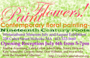 Paint Flowers! Contemporary floral painting, Nineteenth-century roots