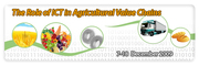 The Role of ICT in Agricultural Value Chains