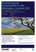 Environmental Sustainability in the Workplace