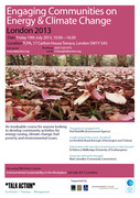 Engaging Communities on Energy and Climate Change – London 2013