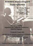 Femmes musicologues francophones