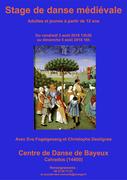 3ème Stage de Danse Médiévale à Bayeux