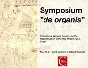 """Symposium """"de organis"""""""
