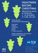 "FEIRAS: ""NIGHTMARE BEFORE X-MAS"" Mercado de Natal Alternativo"