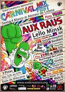 CARNIVAL MIX- FEST - Sexta-feira 4 de Março @ Ateneu de Lisboa