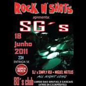 MÚSICA: SG´S ao vivo no Rock n Shots
