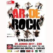 MÚSICA: AR DE ROCK ao vivo no Rock N Shots