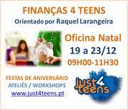 CRIANÇAS: Finanças 4 teens