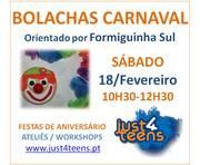 WORKSHOP: Bolachas Decoradas - especial Carnaval