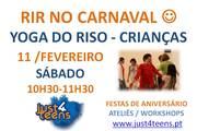 CRIANÇAS: Vamos RIR no Carnaval - Yoga do Riso