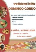 FESTAS: Tradicional Leilão de Domingo Gordo- Fafião