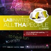 NOITE: LAB The Lost Floor - Invites ALL Tha People