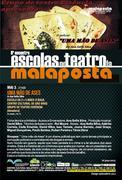 TEATRO: Uma Mão de Ases | 6º Encontro de Escolas no Teatro da Malaposta