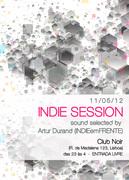 NOITE: INDIE SESSIONS by Artur Durand (INDIEemFRENTE)