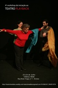 WORKSHOP: 4º workshop de Iniciação ao Teatro Playback