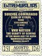 FESTIVAIS: ENTREMURALHAS - Festival Gótico 2012
