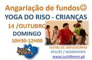 OFICINAS: YOGA do Riso - Ginástica da Gargalhada