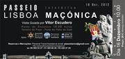 "PASSEIO: Passeio Iniciático ""Lisboa Maçónica"""