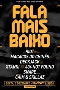 NOITE: FALA MAIS BAIXO (DUBSTEP&DNB) | FREE PARTY | FAKTORY