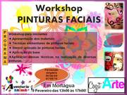 WORKSHOP: Pinturas Faciais em Mortágua
