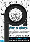 """LIVROS: Lançamento de """"Olhar a Palavra – três olhares, uma caneta, quatro formas de sentir"""""""