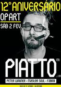 NOITE: 12º Aniversário Op Art com Piatto