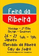 FEIRAS: 1ª Edição FEIRA DA RIBEIRA