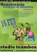 CRIANÇAS: Monstruário - Atelier de Plástica  (4 aos 14 anos)